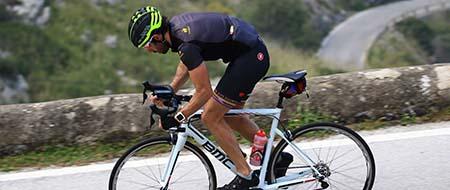 rider at Sa Calobra